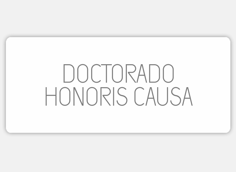 Doctorado Honoris Causa